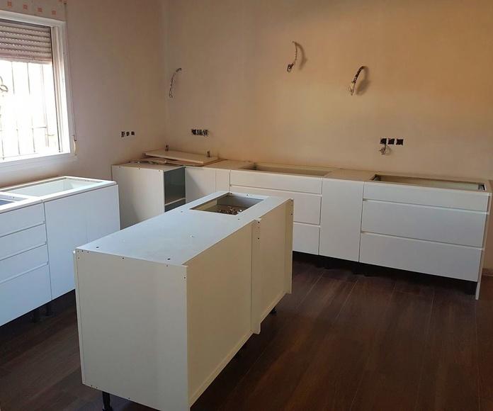 Instalación cocina en Valverde - Elche