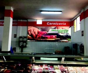 Rotulación interior de supermercado Carnicería