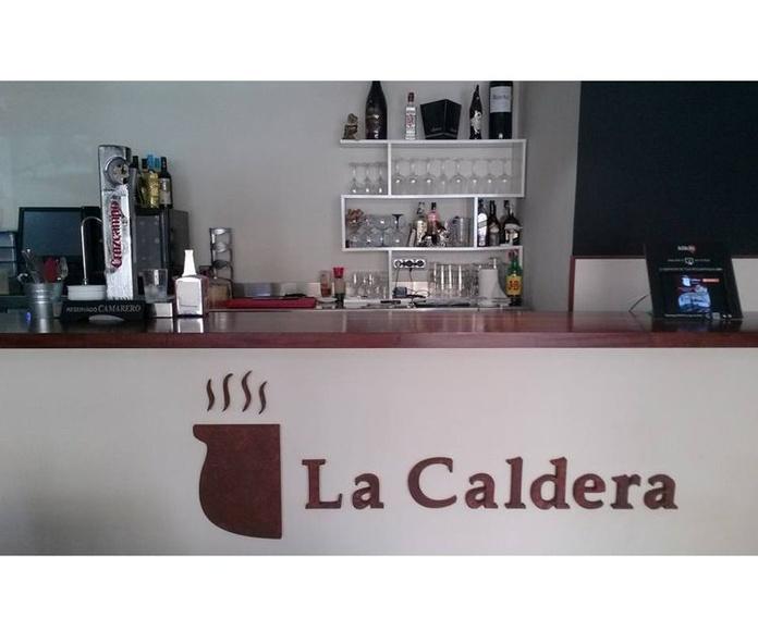Carta Digital disponible 2020: Carta de Gastrobar La Caldera