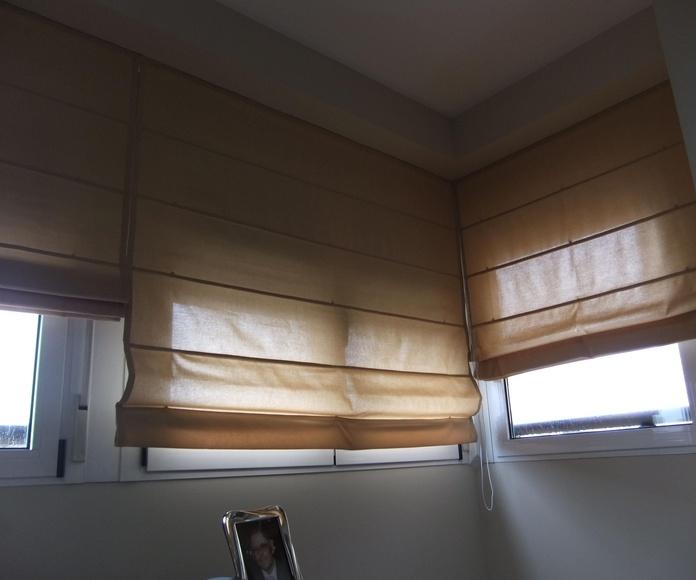 Estores, persianas venecianas y cortina de lama vertical: Catálogo y servicios de Jofrán Tapicería