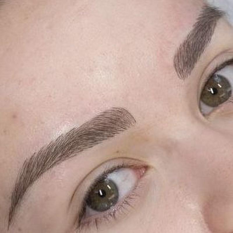 PHISHADING Tecnica Combinada pelo a pelo y efecto polvo.: Servicios de Divinity Body Nails