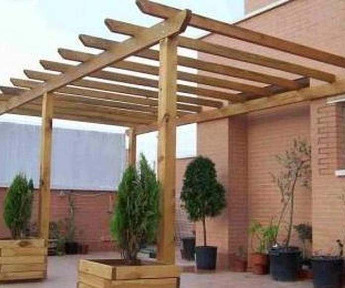Muebles de exterior: Servicios de Carpintería J. I. Olmos
