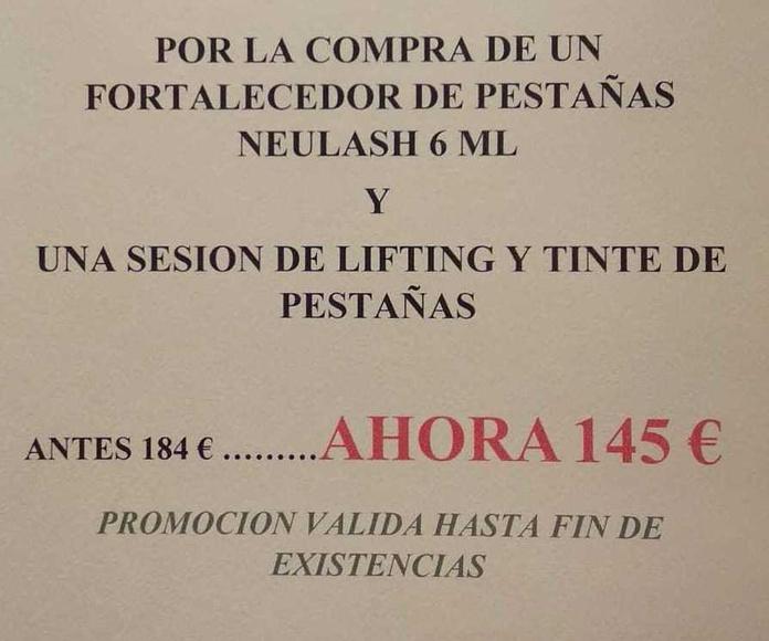 PROMOCION ESPECIAL PESTAÑAS