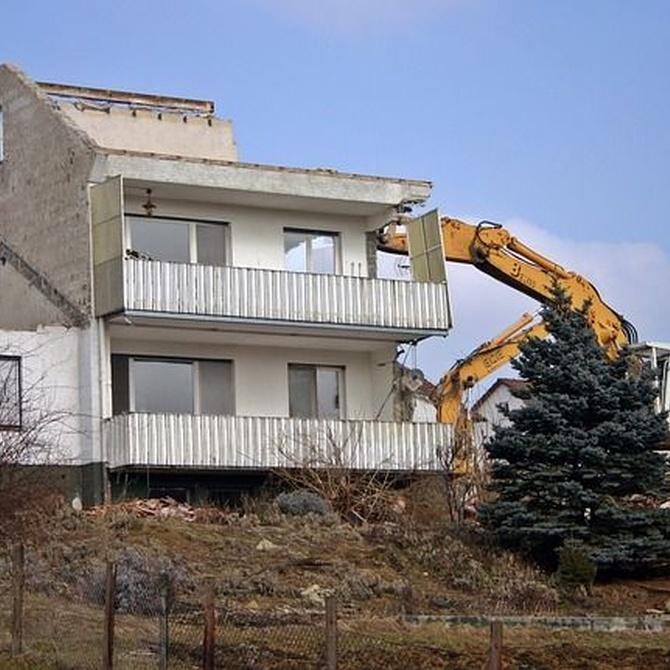 Derribar para construir obra nueva