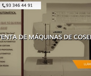 Reparación de máquinas de coser en Sant Andreu de Barcelona