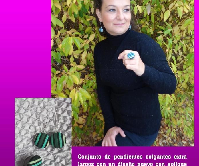 Bisutería en tela de Lira colección otoño: Mis creaciones de Lira Naturaleza