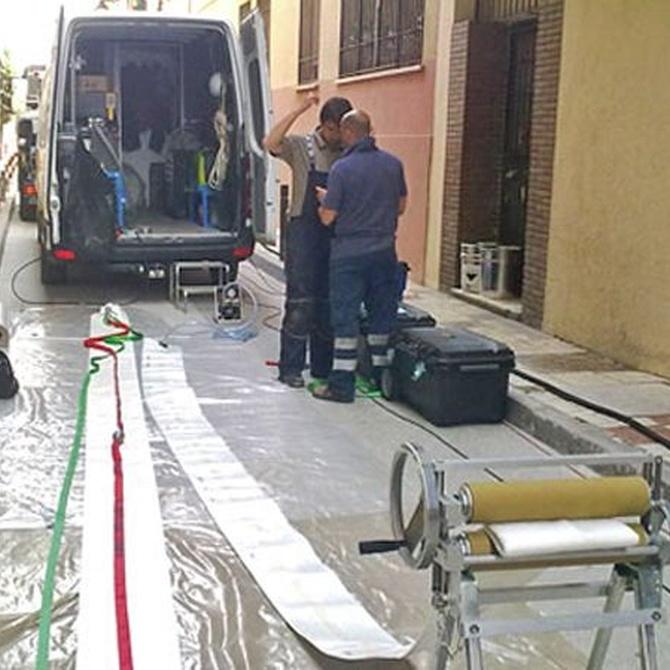 Mantenimiento de las redes de saneamiento