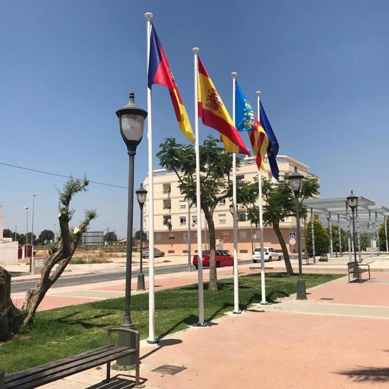 Banderas, Alicante, Flama Levante.