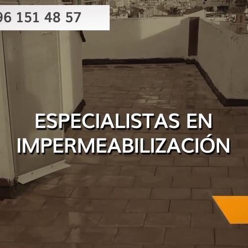 Empresas de impermeabilización en Valencia | Imperval
