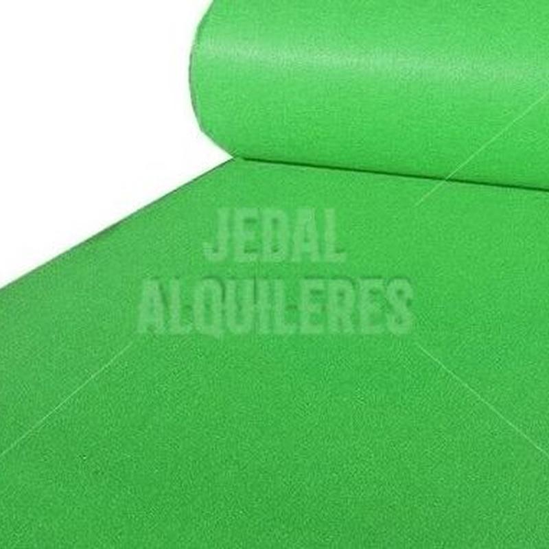 MOQUETA VERDE CLARO: Catálogo de Jedal Alquileres