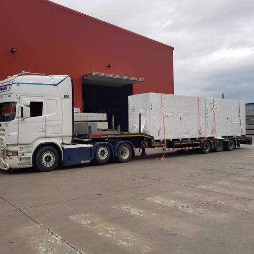 Transporte de mercancías por tierra
