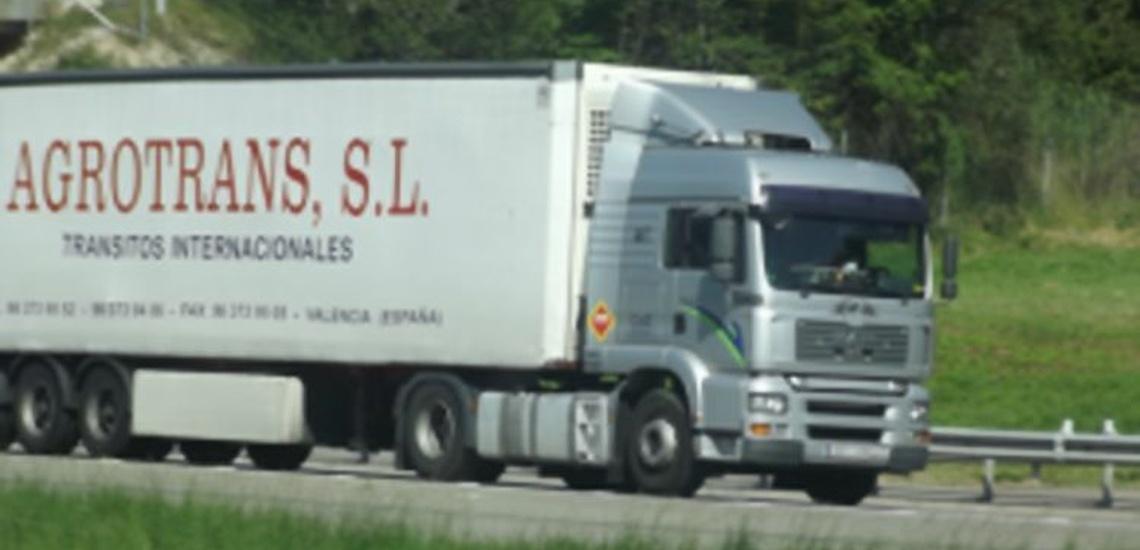 Empresa de transportes frigoríficos en Valencia