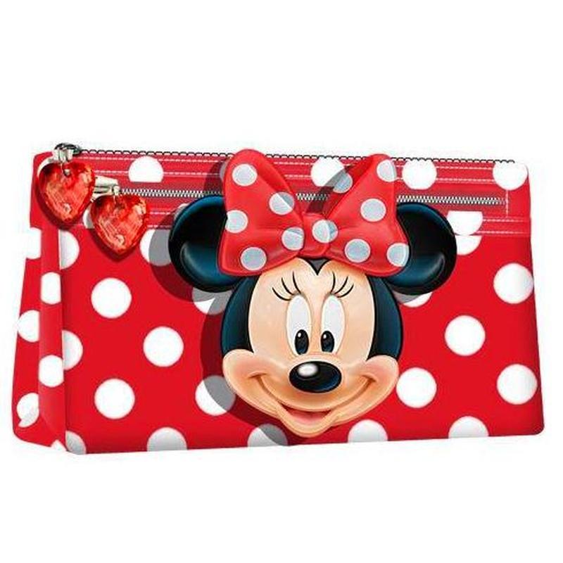 Portatodo dos cremalleras Minnie Disney