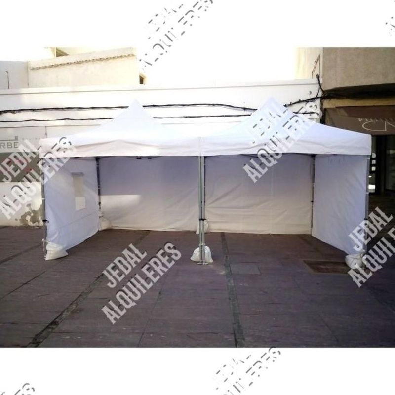 Carpa plegable 3X3 metros reforzada: Catálogo de Jedal Alquileres
