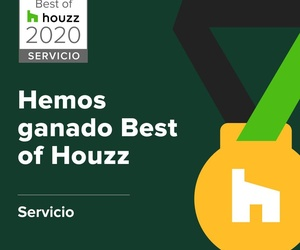 Premio al mejor servicio 2020 por Houzz