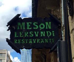 Restaurante con cocina para llevar Bilbao.
