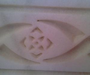 cenefa en mármol de Macael