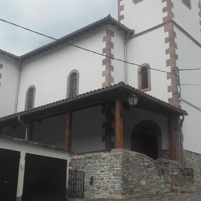 Restauración de iglesias: Servicios de Construcciones Elizaga Mugika