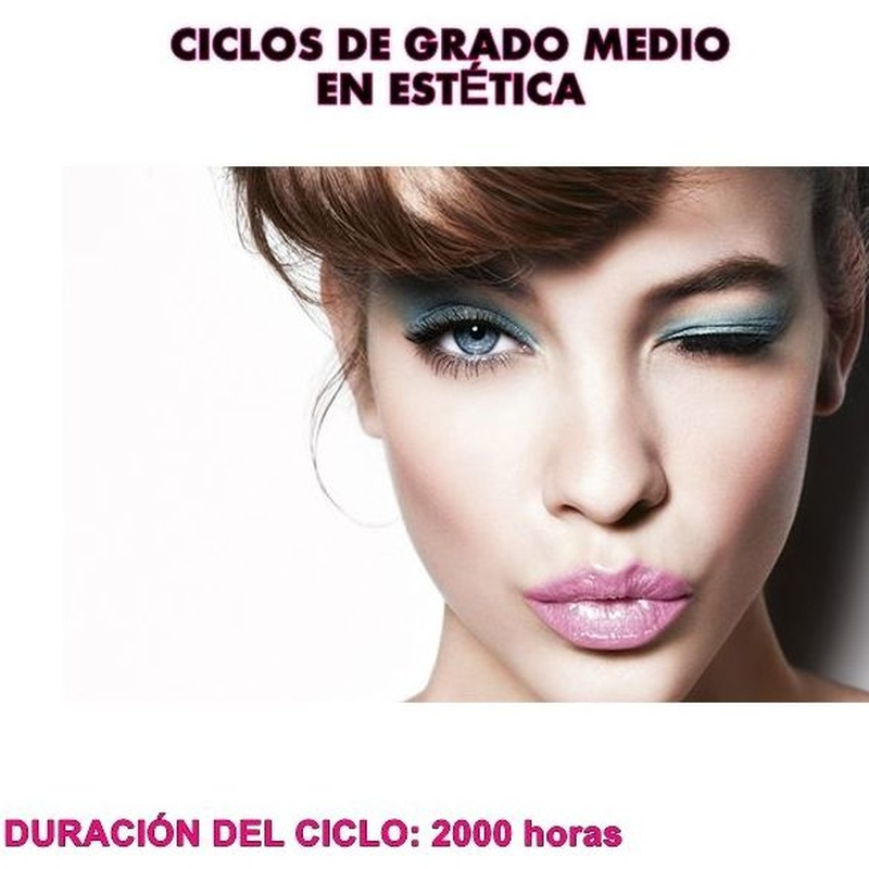 Ciclo formativo de grado medio de estética y belleza: Cursos peluquería y estética de Centro de formación Virgen de los Llanos- Moliné