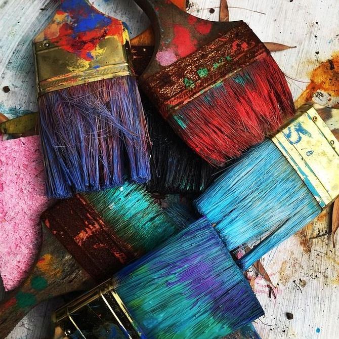 Propiedades de los componentes de la pintura