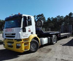 Transporte nacional de mercancías en Pontevedra