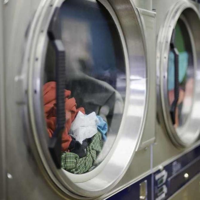 Distribución de una lavandería industrial