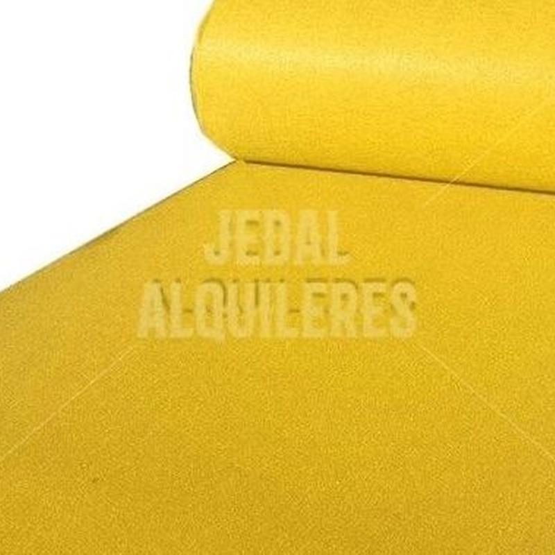 MOQUETA AMARILLA: Catálogo de Jedal Alquileres