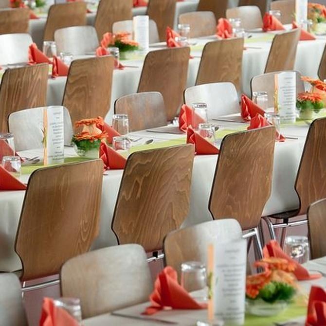 Cómo colocar las sillas en un evento