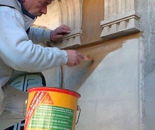 Restauración, limpieza e impermeabilización