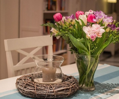 Reavivar flores marchitas