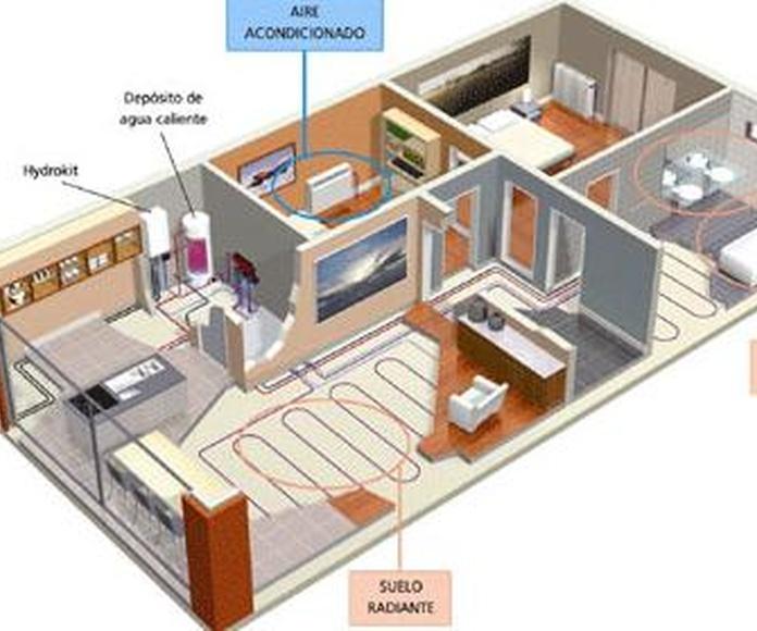Instalaciones : Servicios de R. Ex Construcciones y Reformas Integrales, S.L.