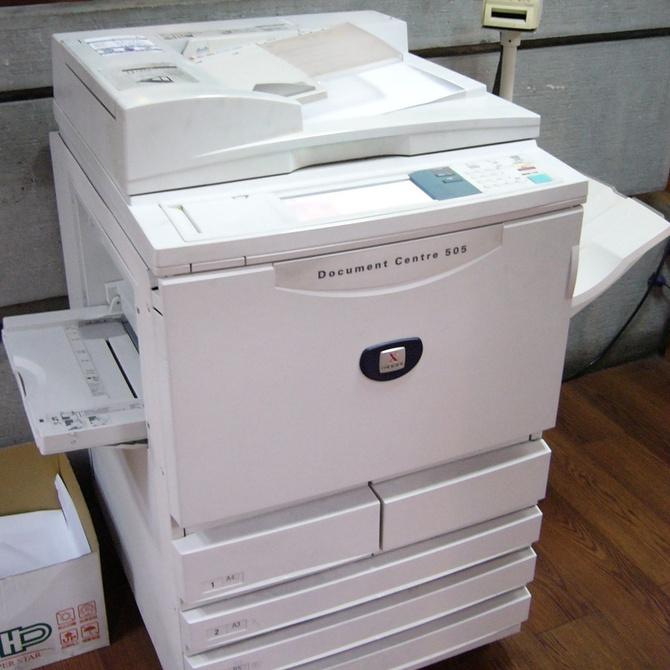 Historia de la fotocopiadora