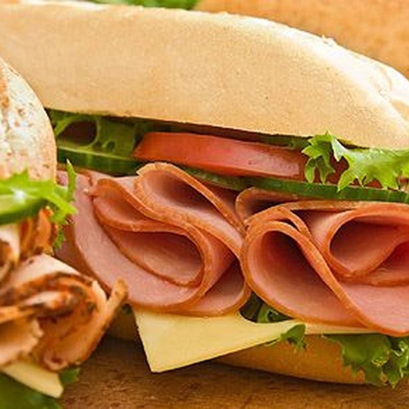 Bocadillos y hamburguesas: Productos de ETXE ZAR OSTATU