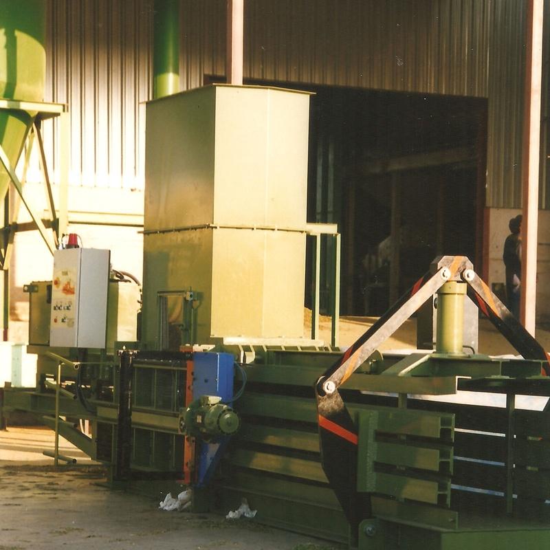 Prensa alfalfa hasta 800kg