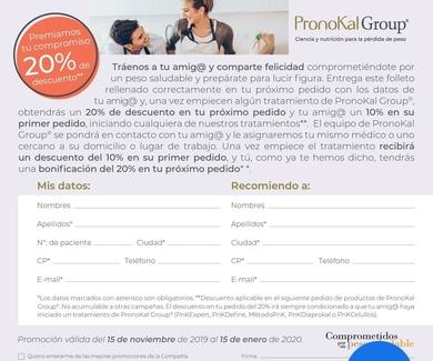 Promoción navideña Pronokal Group