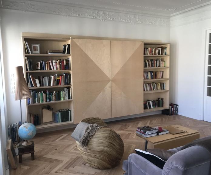 Muebles giratorios tv, sepador espacios: Servicios de Diseño a Medida