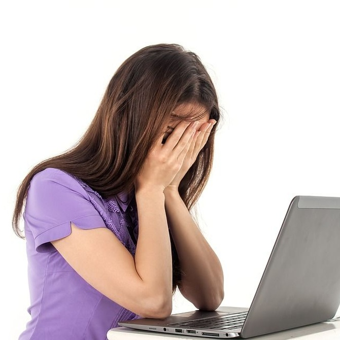 Problemas oculares si pasas muchas horas ante el ordenador