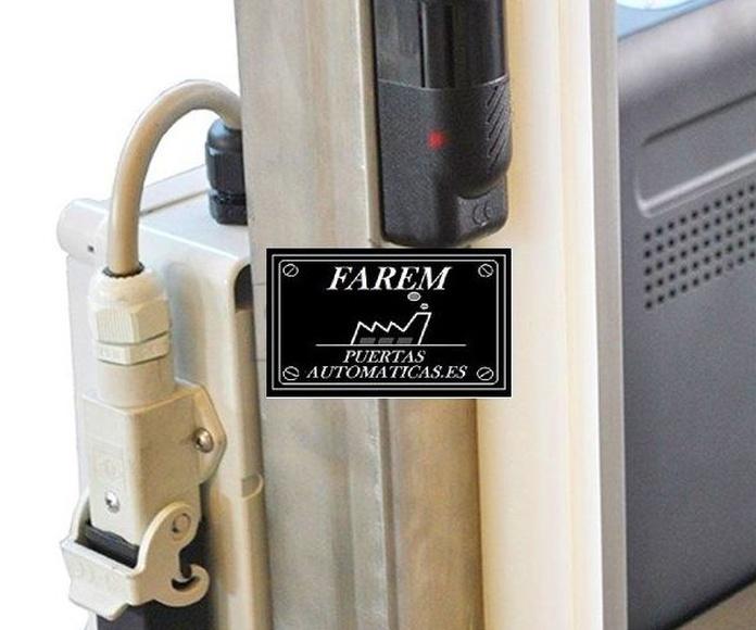 Fotocélula Puerta Rápida Salas Blancas Farem Giesse Auto Pharma