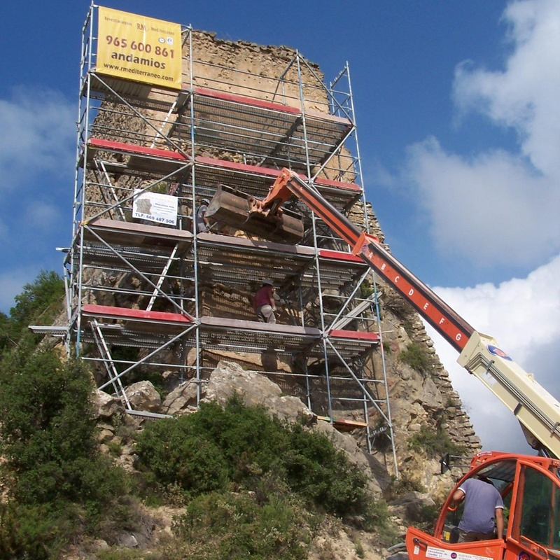 Rehabilitación Castillo de benifallin