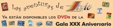 Ya están disponibles los DVDs de la GALA 30 ANIVERSARIO