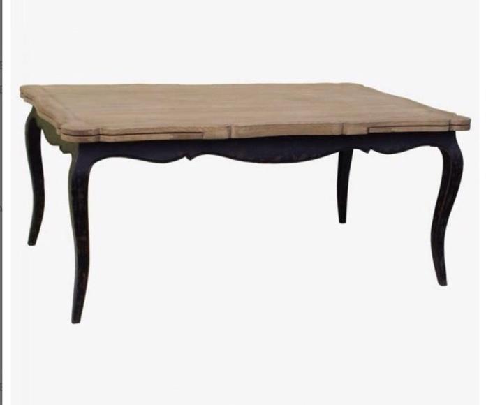 Mesa comedor tapa de madera maciza: Catálogo de Ste Odile Decoración