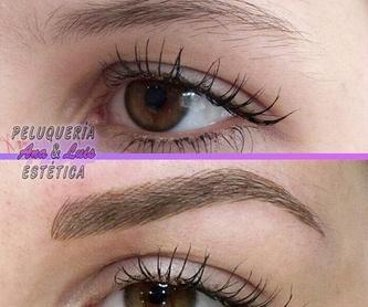 Maquillajes: Servicios de Peluquería & Estética Ana Peluqueros