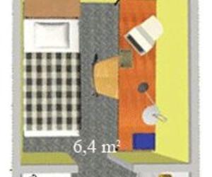 habitaciones individuales pequeña