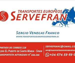 Transportes y mudanzas en Málaga | Transportes Europeos Servefran