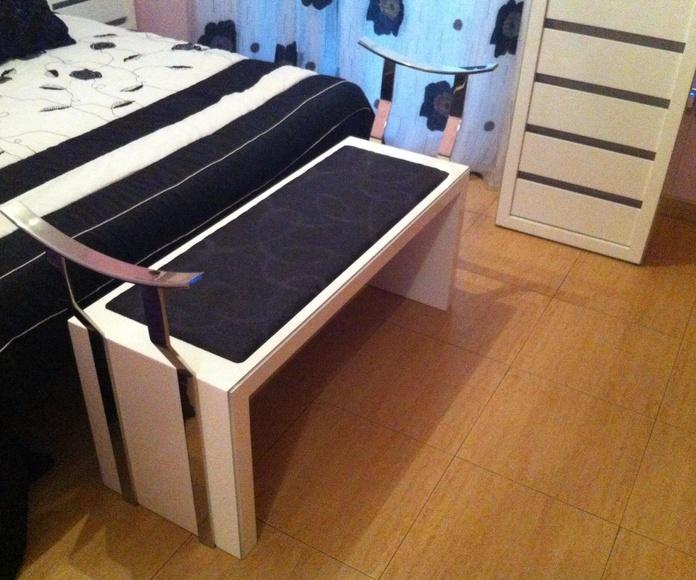 Muebles de dormitorio a medida.