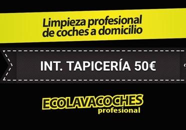 http://kit-ecolavacoches.es Interior Tapicería 50€ Dirección Dia Hora