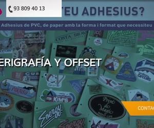 Empresas de señalización en Igualada | Indùstries Gràfiques Arga