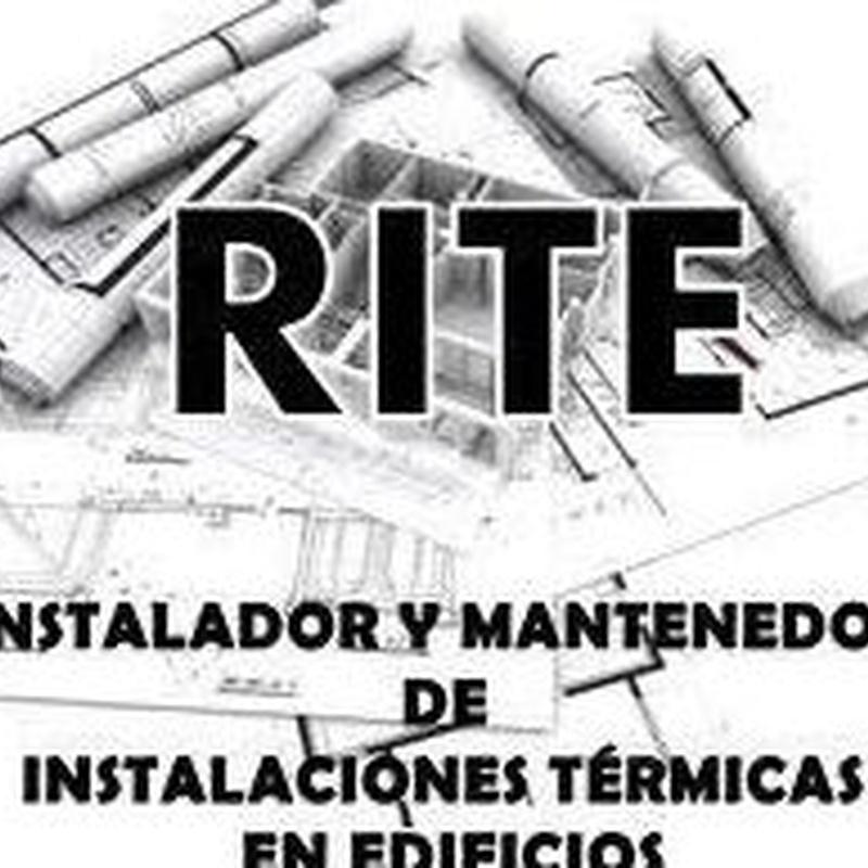 Instalador y mantenedor de instalaciones térmicas en edificios en Almería