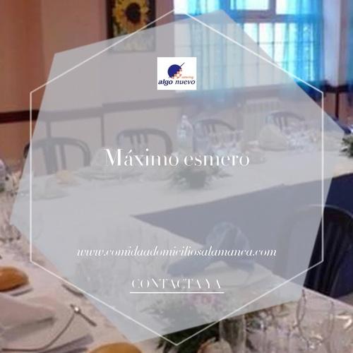 Menús diarios en Salamanca | Algo Nuevo