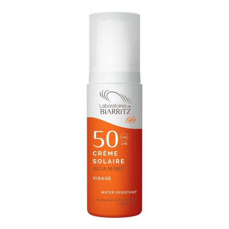 crema solar cara fator 50 ALGA MARIS 50ml: Productos de Bionatura